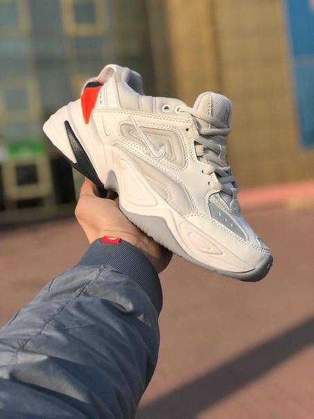 Мужские кроссовки Nike MK2 Tekno белые. Размеры (40,41,42,43,44,45)