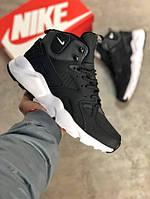 Мужские кроссовки ACRONYM x Nike Air Huarache чёрные . Размеры (40, 41, 42, 43, 44, 45), фото 1