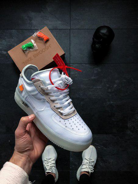 Мужские кроссовки  Nike Air Force 1 Low - White