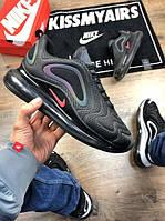 Мужские кроссовки Nike Air Max 720 тёмно-серые. Размеры (40, 41, 42, 43, 44, 45), фото 1