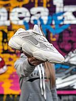 Мужские кроссовки Adidas Yeezy 500 Utility White (белые). Размеры (41,42,43,44,45)
