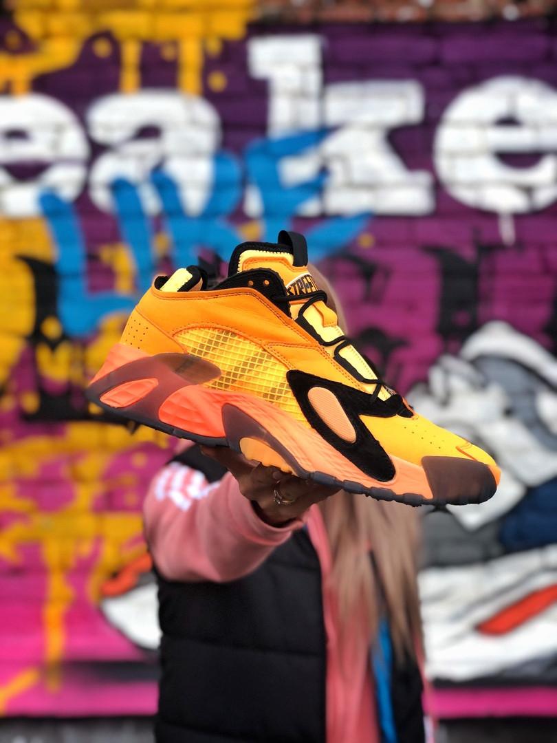 Мужские кроссовки Adidas Streetball оранжевые. Размеры (42,43,45)