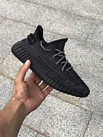 Мужские кроссовки  Adidas Yeezy 350 Boost V2 Black., фото 1