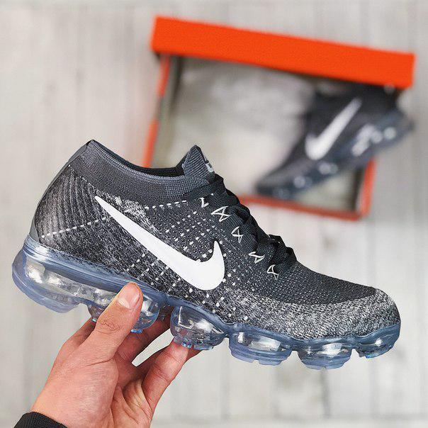 Мужские кроссовки Nike VaporMax Dark Grey Pure Platinum