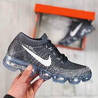 Мужские кроссовки Nike VaporMax Dark Grey Pure Platinum, фото 1