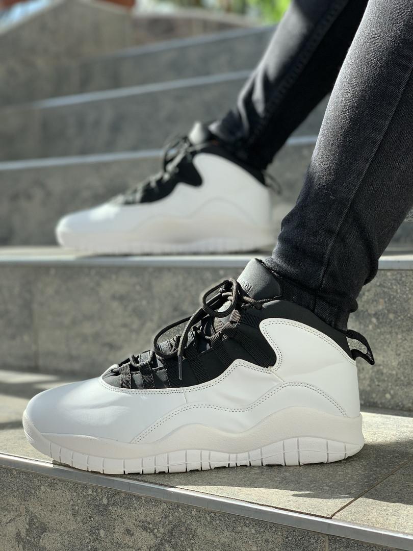 """Мужские кроссовки Nike Air Jordan 10 Retro """"Orlando Magic"""". Размеры (41,42,43,44,45)"""