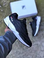 Мужские кроссовки Fila Venom Black. Размеры (40,41,42,44), фото 1