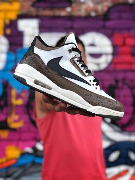 Мужские кроссовки Nike Air Jordan 3 III Retro. Размеры (41,42,43,44,45,46)