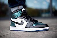 Мужские кроссовки Nike Air Jordan 1 Retro High OG синий | Найк Аир Джордан 1 Ретро | Размеры (41,42,43,44), фото 1