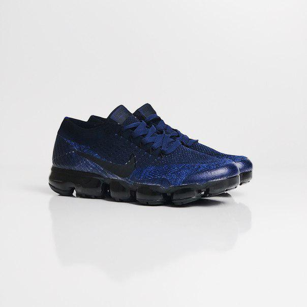 Мужские кроссовки Nike Air VaporMax Dark Team Red Black, Реплика
