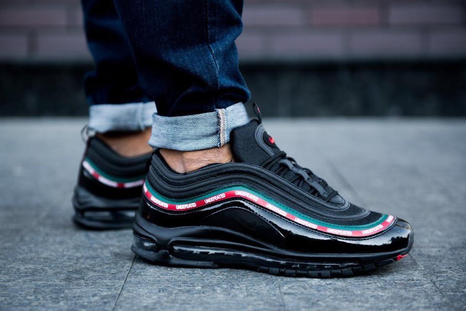 Мужские кроссовки UNDFTD x Nike Air Max 97 OG Black чёрные. Размеры (41,42,43,44)