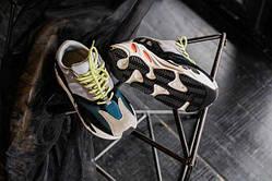 Чоловічі кросівки Adidas Yeezy 700 Boost сірі+дод. кольору. Розміри (36,37,38,39,40,41,42,44,45)