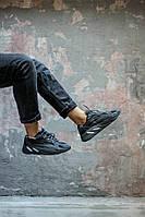 Мужские кроссовки Adidas Yeezy 700 Boost Black чёрные. Размеры (40,41,43,44), фото 1