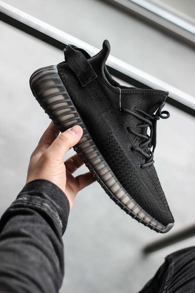Мужские кроссовки Adidas Yeezy V2, Blackчерные. Размеры (36,37,38,39,40,41,42,43,44)