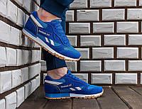 Мужские кроссовки Reebok classic blue , фото 1
