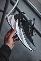 Мужские кроссовки Adidas Shark  Black/White чёрно-белые. Размеры (41,44,45), фото 1