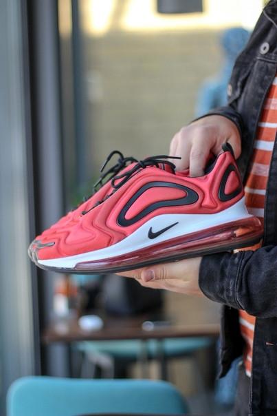 Мужские кроссовки Nike Air Max 720 Red красные. Размеры (40,42,44)