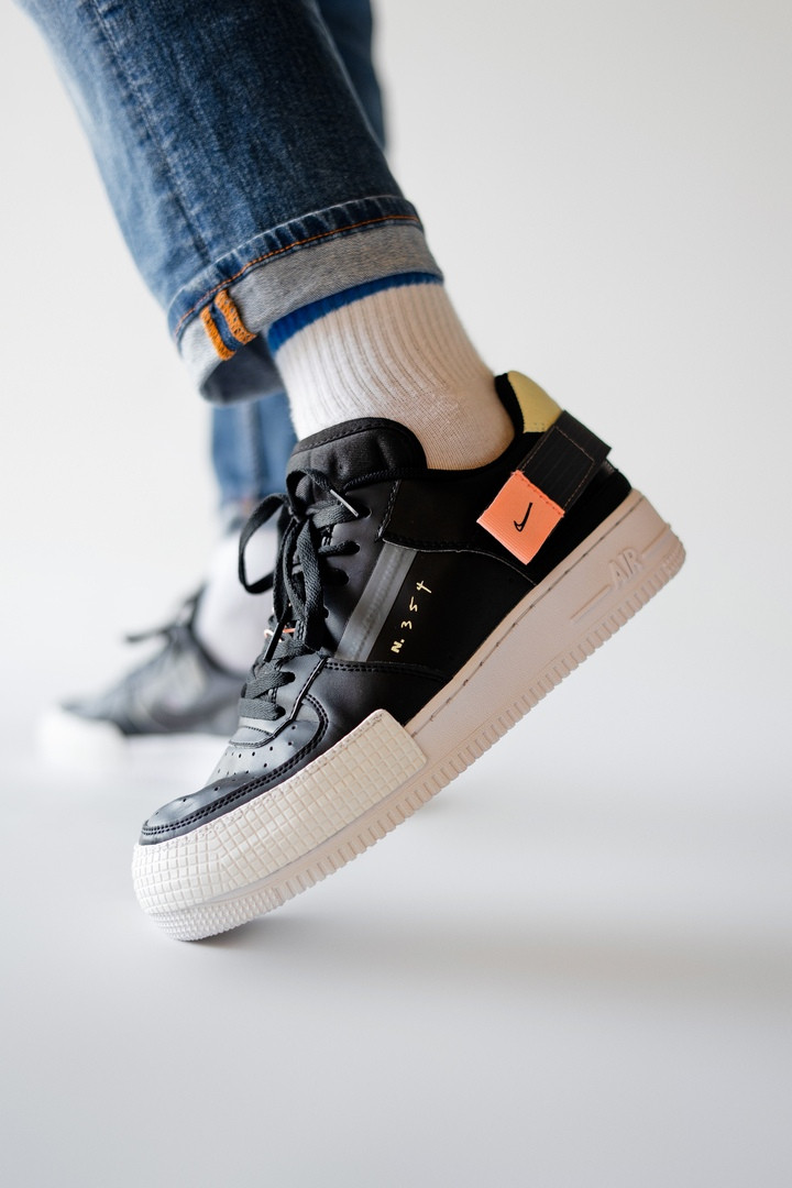 Кроссовки Nike Air Force 1 Type 354 Black
