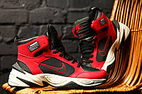 """Мужские кроссовки Nike M2K Tekno Winter """"Red"""" зима, красные. Размеры (41,42,44), фото 1"""