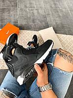 "Мужские кроссовки Nike Air Max 90 Sneakerboot ""Black/White"" зима, чёрно-белые. Размеры (41,42,43,44,45), фото 1"