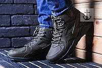 Зимние кроссовки Nike Air Huarache хаки (зеленые) 41,42,43,44, фото 1
