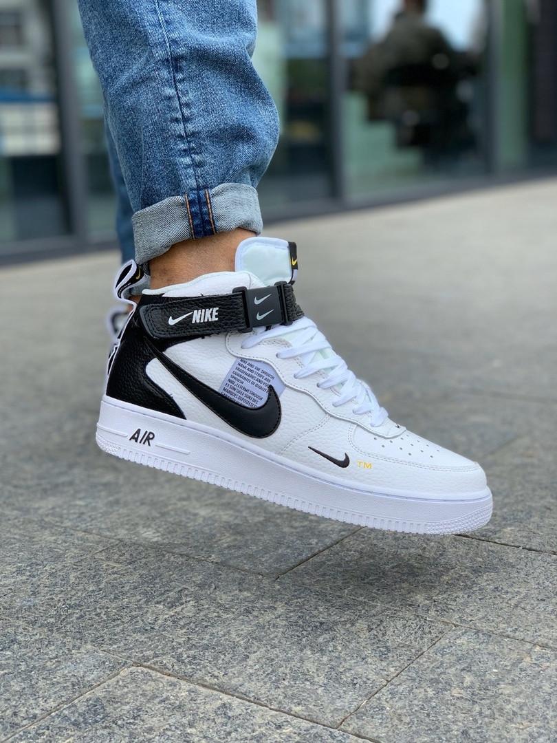 Кроссовки мужские Nike Air Force 1 Hight White