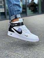 Кроссовки мужские Nike Air Force 1 Hight White, фото 1