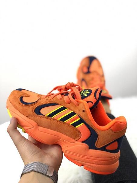 Мужские кроссовки Adidas Yung 1 Hi Res Orange