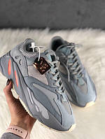 Мужские кроссовки Adidas Yeezy 700 Inertia, серые. Размеры (36,37,38,40,41,43,44), фото 1