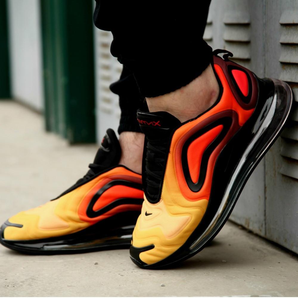 Мужские кроссовки Nike Air Max 720 Black Orange
