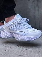 Мужские кроссовки Nike M2K Tekno white, белые. Размеры (36,44,45), фото 1