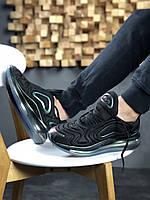 """Мужские кроссовки Nike Air Max 720 """"Throwback Future"""" Black, чёрно-перламутровые. Размеры (41,42,43,44,45), фото 1"""