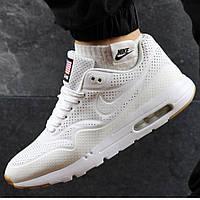 Мужские кроссовки Nike Air Max 90 White белые р. 43 44, фото 1