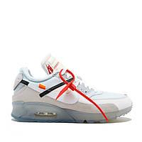 Мужские кроссовки Off-White x Nike Air Max 90, топ, фото 1
