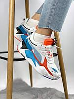 Чоловічі кросівки Puma RS-X Reinvention, різнокольорові. Розміри (36,37,39,41,42,43,44)