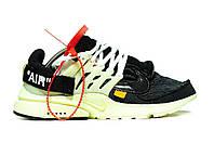 Мужские кроссовки Nik Off-White Air Presto , фото 1