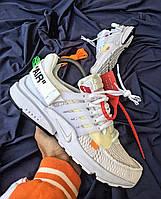 Мужские кроссовки Nik Off-White Air Presto