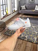Мужские кроссовки  Nike Air Force 1 Off White, фото 1