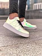 Кроссовки женские Nike Air Force 1 Reflective low., фото 1