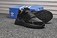 Мужские кроссовки Adidas Originals Nite Jogger Triple Black, чёрные. Размеры (42,43,44), фото 1