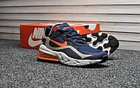 Мужские кроссовки Nike Air Max 270 react Blue Orange, синие. Размеры (41,42,44,45), фото 1