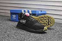Мужские кроссовки Adidas ZX RM 500 Triple Black, чёрные. Размеры (41,42,45), фото 1