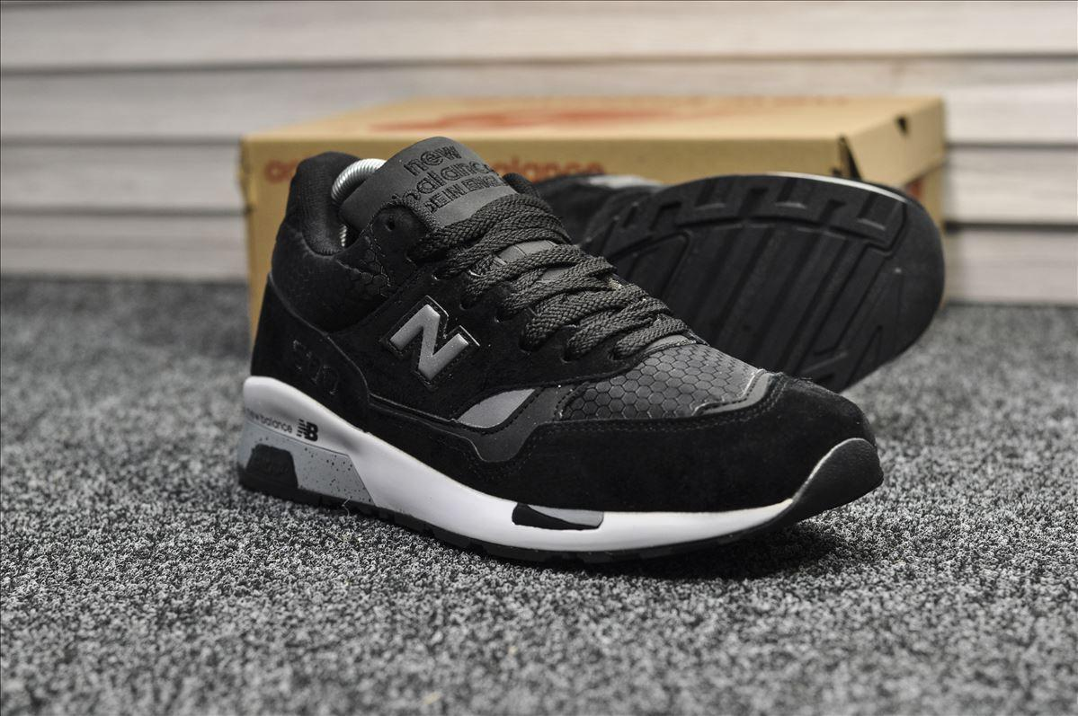 Кроссовки мужские New Balance 1500 Black, чёрные. Размеры (41,42,43,44)