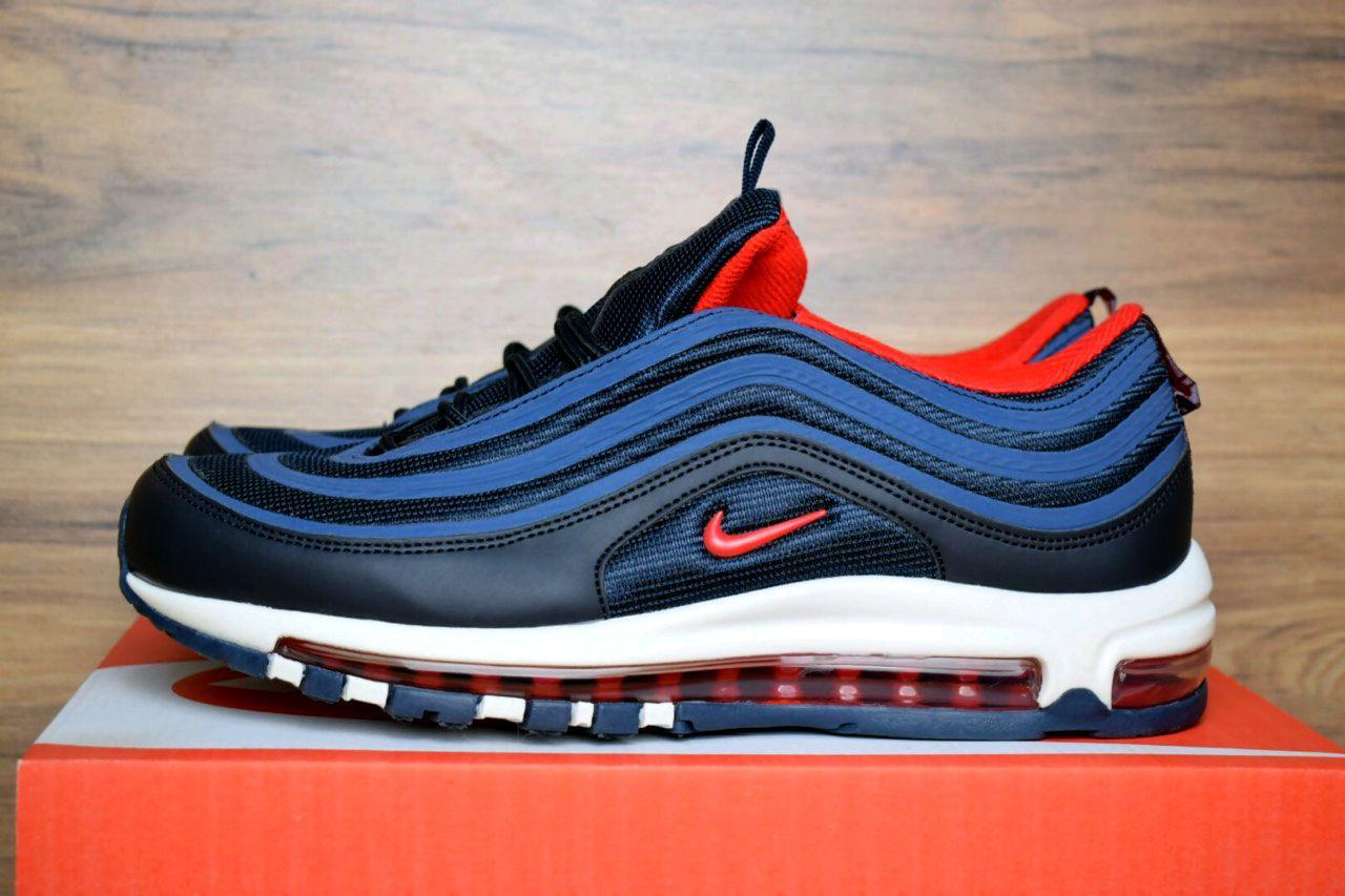 Мужские кроссовки Nike Air Max 97 Blue, синие. Размеры (43,44,45)