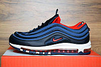 Мужские кроссовки Nike Air Max 97 Blue, синие. Размеры (43,44,45), фото 1
