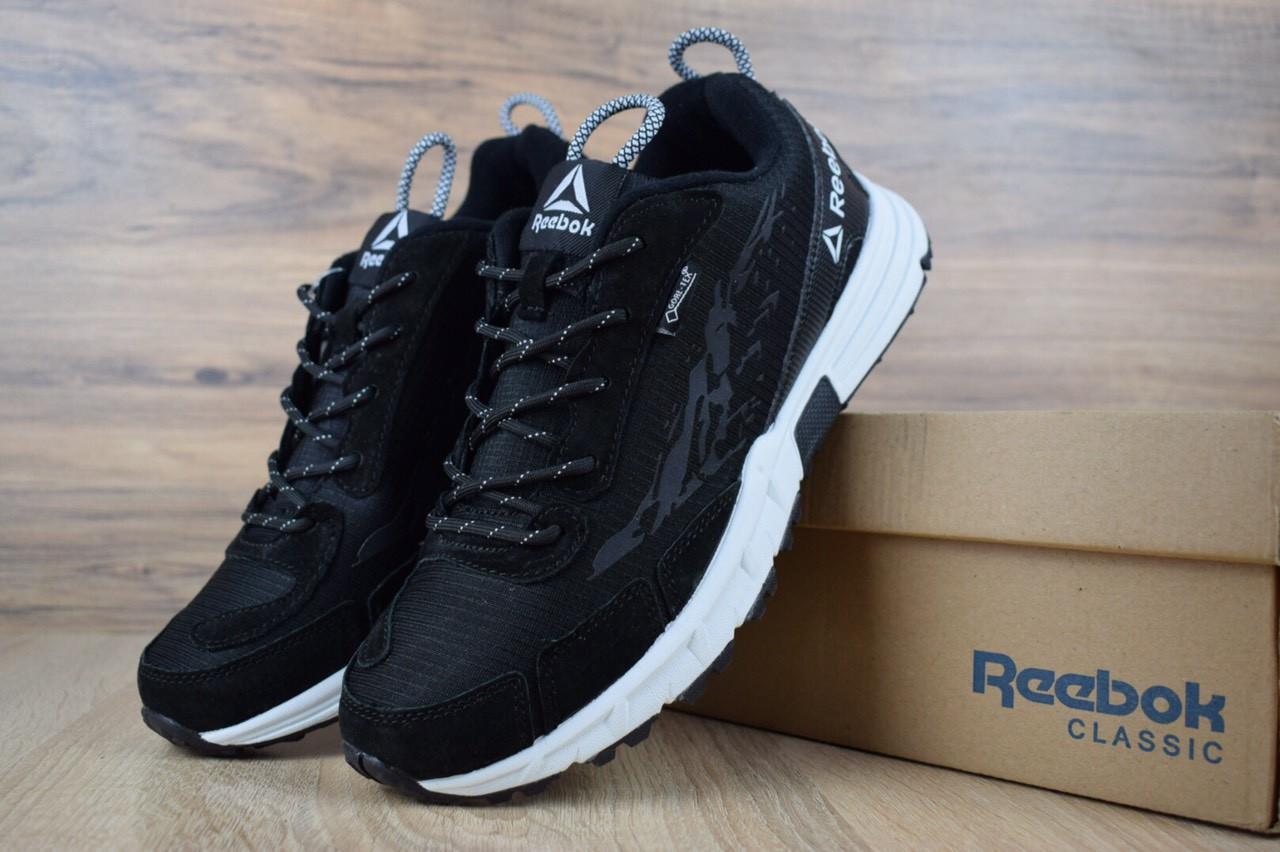 Мужские кроссовки Reebok One Sawcut Gtx Black, чёрные. Размеры (41,43,44)