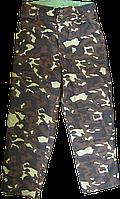 Брюки ватные камуфлированные,ватные брюки,штаны утепленные,спецодежда