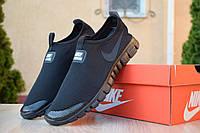 Мужские кроссовки Nike Free Run 3.0, чёрные. Размеры (43,44,45), фото 1