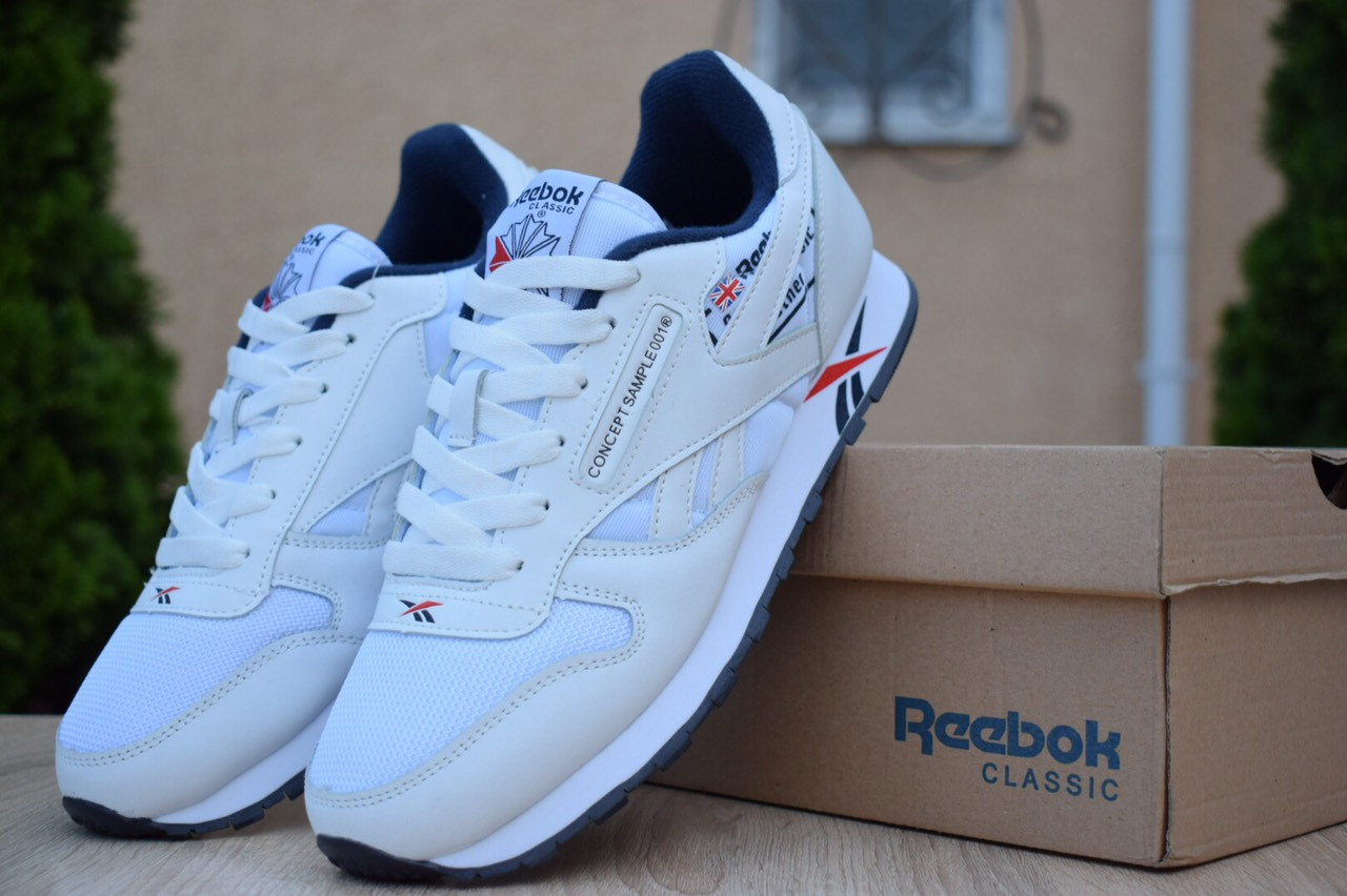 Кросівки чоловічі Reebok Concept Sample 001, білі. Розміри (43,44,45,46)