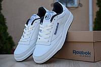 Чоловічі кросівки Reebok Workout White Blue, білі з синім. Розміри (41,42,43,44), фото 1